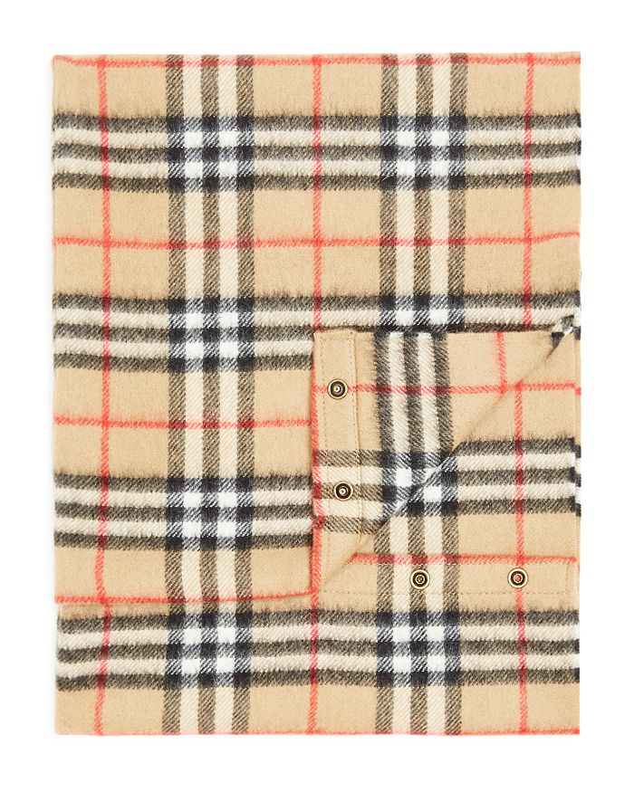 Burberry - Unisex Vintage Check Cashmere Snood