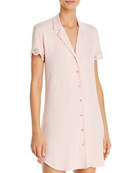 Josie - Solid Bardot Essentials Sleepshirt