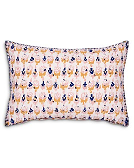 "John Robshaw - Kiki Oyster Decorative Pillow, 12"" x 18"""