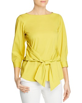 Lafayette 148 New York - Wixton Tie-Front Top