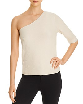 Lafayette 148 New York - One-Shoulder Sweater