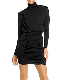 Cinq à Sept - Ruched Bodycon Mini Dress