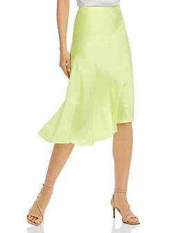 Helmut Lang - Asymmetrical Midi Skirt