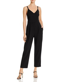 FRENCH CONNECTION - Anana Whisper Cropped Sleeveless Jumpsuit