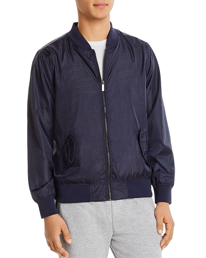 Sovereign Code - Allistor Slim Fit Bomber Jacket