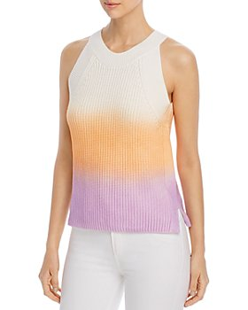 525 - Cotton Spray-Dyed Sweater Tank
