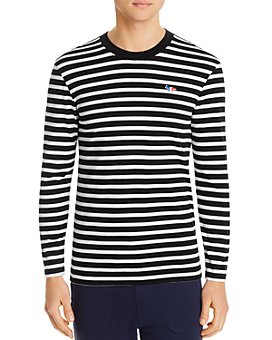 Maison Kitsuné - Marin Tri-Color Fox Logo Long-Sleeve Tee
