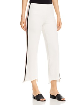 Lyssé - Emilia Cropped Wide-Leg Jeans in Off White