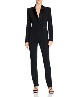 David Koma - Tuxedo Tailored Jumpsuit