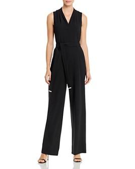 Calvin Klein - Sleeveless V-Neck Jumpsuit