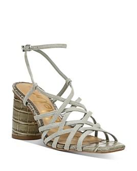 Sam Edelman - Women's Daffodil Strappy Block Heel Sandals