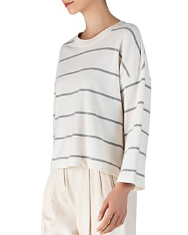 ATM Anthony Thomas Melillo - Cotton Striped Sweatshirt