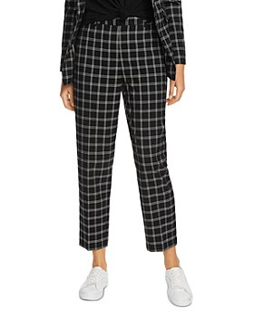 1.STATE - Windowpane Plaid Pants