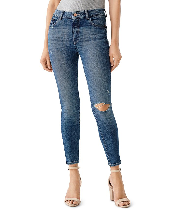 DL1961 - Florence Mid-Rise Skinny Ankle Jeans in Hamilton