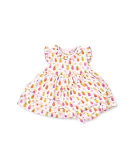 Kissy Kissy - Girls' Cotton Pineapple Print Dress Set - Baby