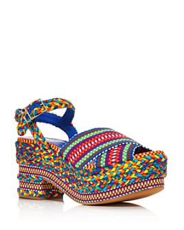 ANTOLINA - Women's Woven Platform Sandals - 100% Exclusive