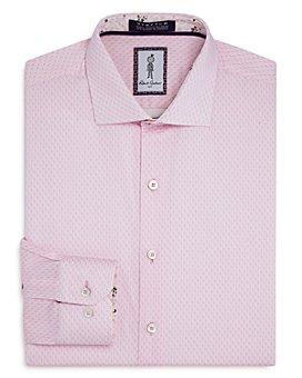 Robert Graham - Haynes Cotton-Blend Printed Regular Fit Dress Shirt