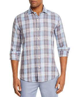 Dylan Gray - Checked Classic Fit Shirt