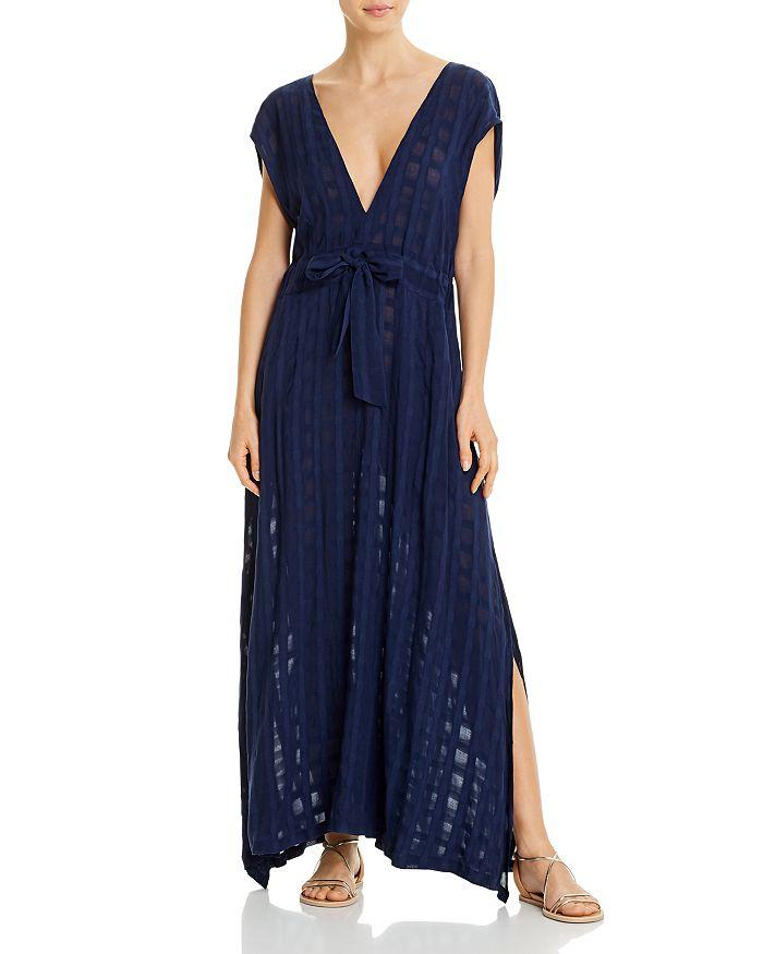 Ralph Lauren - Plaid Midi Dress Swim Cover-Up