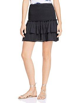 DOLAN - Eleanor Smocked Tiered Skirt
