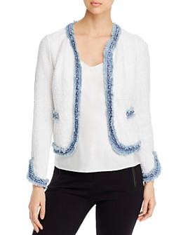 NIC and ZOE - Bright Side Fringed Knit Jacket