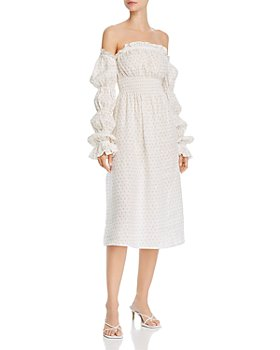 Sleeper - Michelin Cold-Shoulder Dress