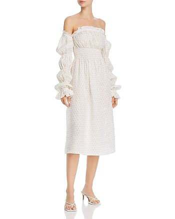 Sleeper - Michelin Cold-Shoulder Dress