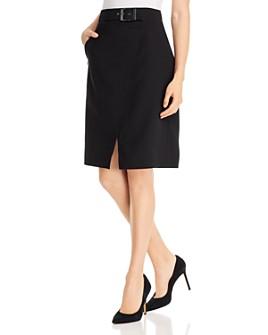 Elie Tahari - Graceyln Belted Skirt