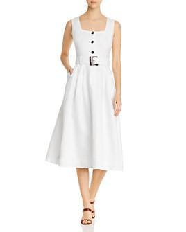 Lafayette 148 New York - Chris Belted Midi Dress