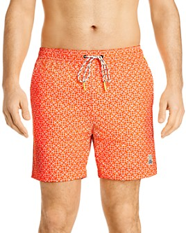 Psycho Bunny - Printed Swim Trunks