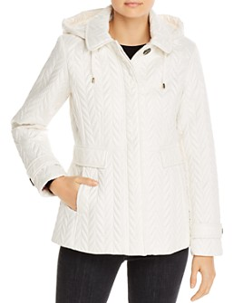 kate spade new york - Quilted Hooded Coat