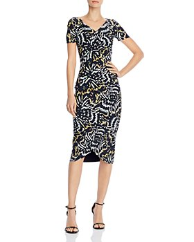 Chiara Boni La Petite Robe - Ajak Printed Midi Dress - 100% Exclusive
