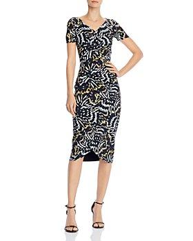 Chiara Boni La Petite Robe - Ajak Printed Midi Dress - 100% Exclusive