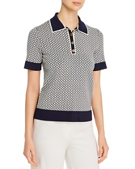 Tory Burch - Gemini Link Polo Shirt