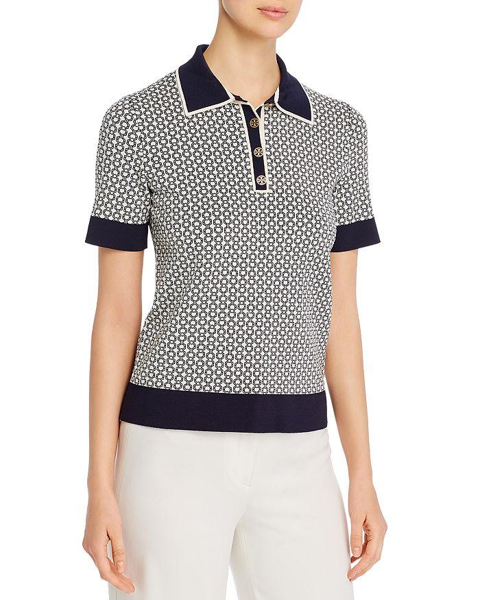 Tory Burch - Gemini Link Polo Shirt