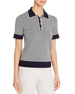Tory Burch Gemini Link Polo Shirt