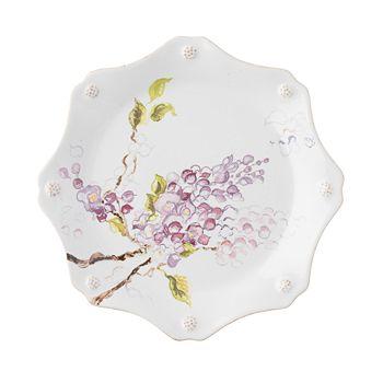Juliska - Berry & Thread Floral Sketch Wysteria Dessert/Salad Plate