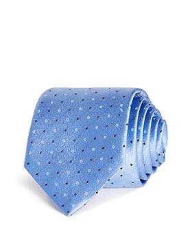HUGO - Dots & Circles Silk Skinny Tie