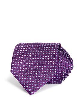 BOSS - Micro-Florette Neat Silk Classic Necktie