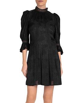 The Kooples - Coffy Jacquard Mini Dress