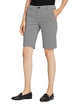 Ralph Lauren - Slim Fit Houndstooth Shorts