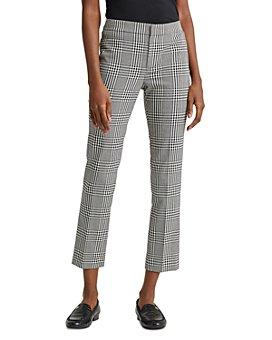 Ralph Lauren - Cropped Plaid Pants