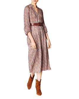 ba&sh - Dean Tiered Midi Dress