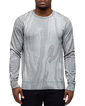 Wings and Horns - Cotton Vertical Dyed Sweatshirt