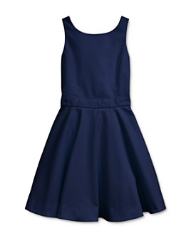 Ralph Lauren - Girls' Crossback Cotton Stretch Dress - Big Kid