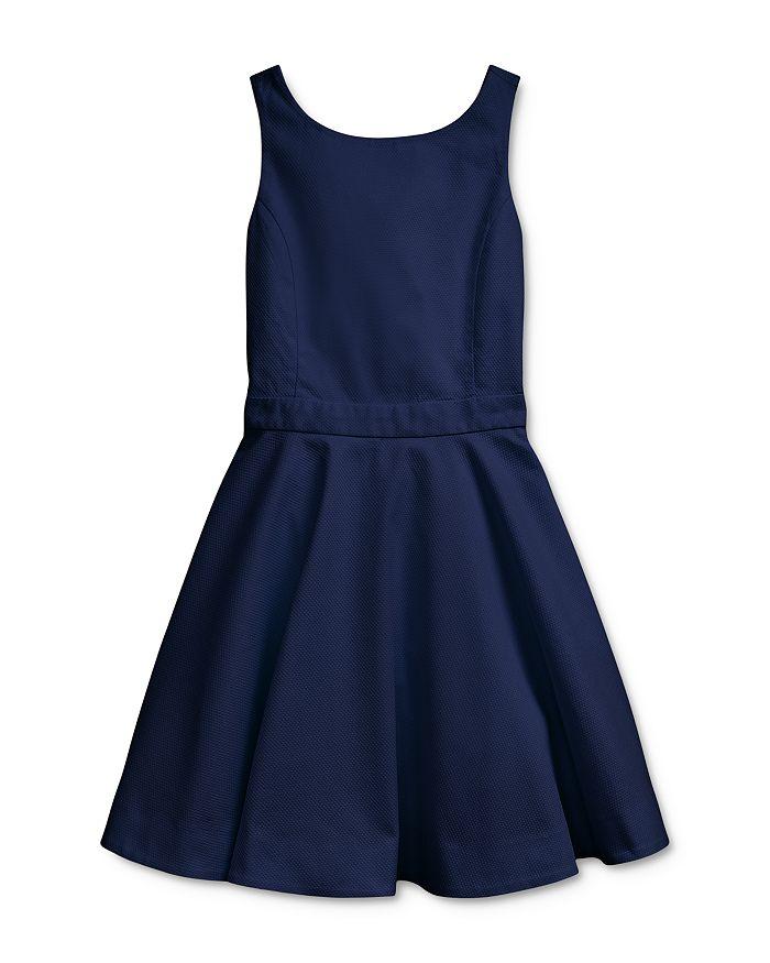 Ralph Lauren - Girls' Crossback Cotton Stretch Dress - Big Kid
