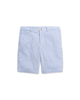 Ralph Lauren - Boys' Slim Cotton Stretch Seersucker Shorts - Little Kid