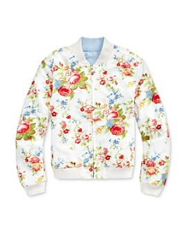 Ralph Lauren - Girls' Reversible Oxford Jacket - Big Kid