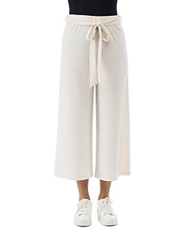 B Collection by Bobeau - Doris Ribbed Knit Crop Pants