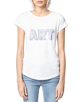 Zadig & Voltaire - Graphic Print T-Shirt